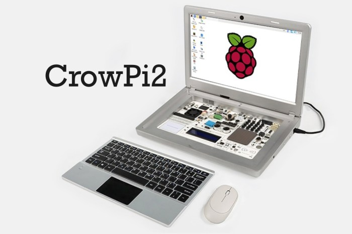 CrowPi2 Raspberry Pi Laptop and STEM Education Platform Ships This Month