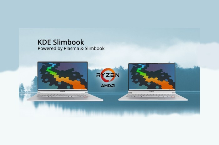 Meet the First KDE Slimbook Linux Ultrabook with AMD Ryzen 4000 Series CPUs