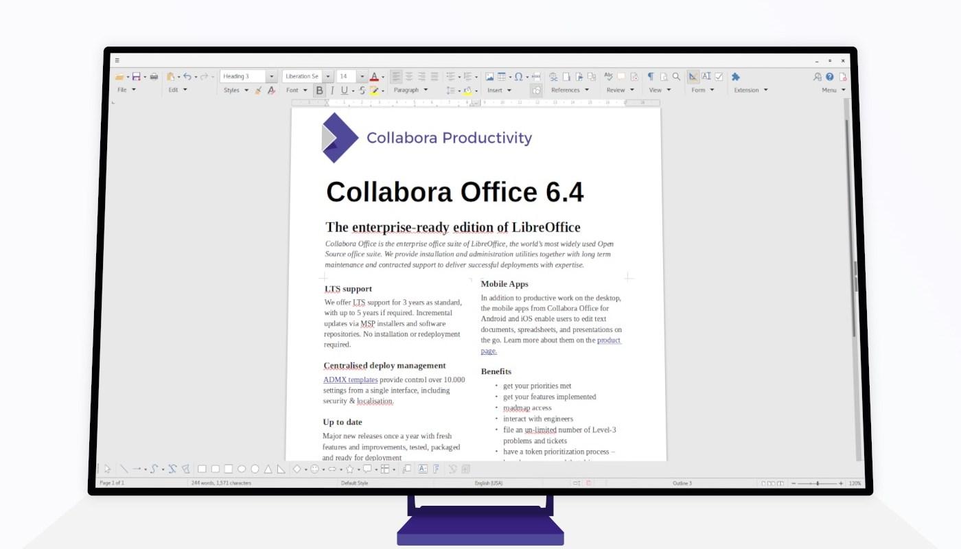 Collabora Office 6.4