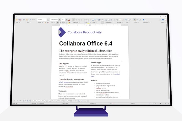 Collabora Office 6.4 Brings Outstanding MS Office Interoperability, LTS Support