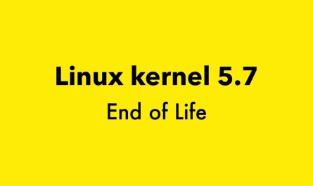 Linux kernel 5.7 End of Life