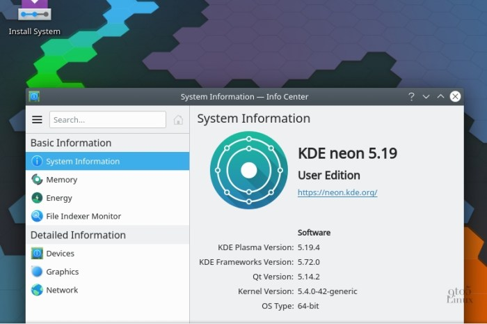 KDE neon Is Now Based on Ubuntu 20.04 LTS (Focal Fossa)