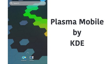 Plasma Mobile UI