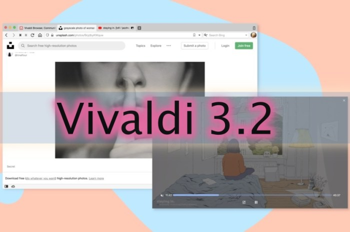 Vivaldi 3.2 Brings a Mute Button on Picture-in-Picture Mode, More Improvements