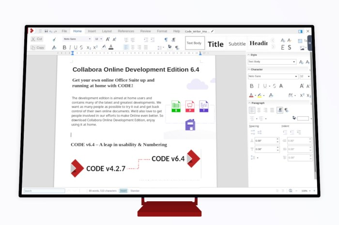 Collabora Online Development Edition 6.4 Office Suite Gets a Fresh Look, Many Improvements