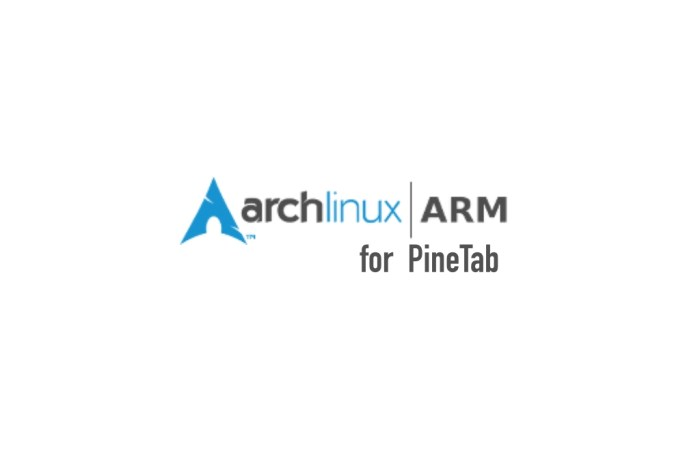 Now Arch Linux ARM Runs on PINE64's PineTab Linux  Tablet