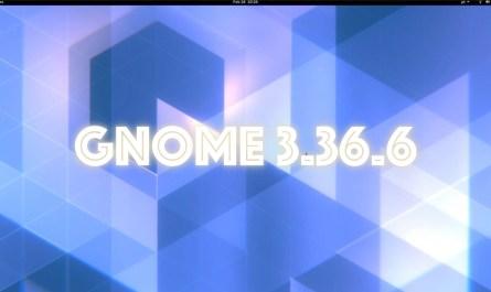 GNOME 3.36.6