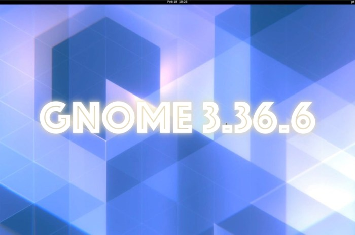 GNOME 3.36.6 Desktop Update Arrives with HiDPI and Lock Screen Fixes