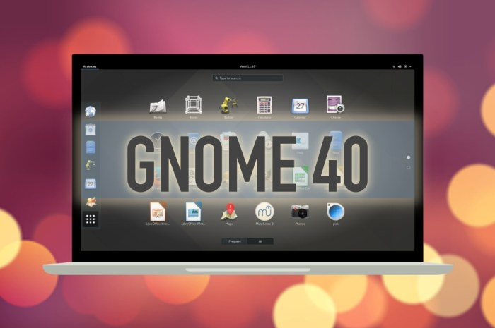 GNOME 40 Is the Next Major Release of the Linux Desktop, Coming March 2021