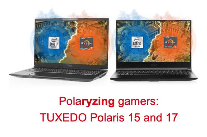 TUXEDO Computers Unveils TUXEDO Polaris 15 and 17 Laptops for Linux Gamers