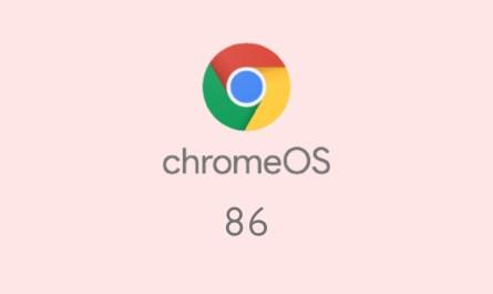 Chrome OS 86