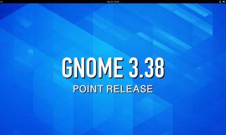 GNOME 3.38 Point Release