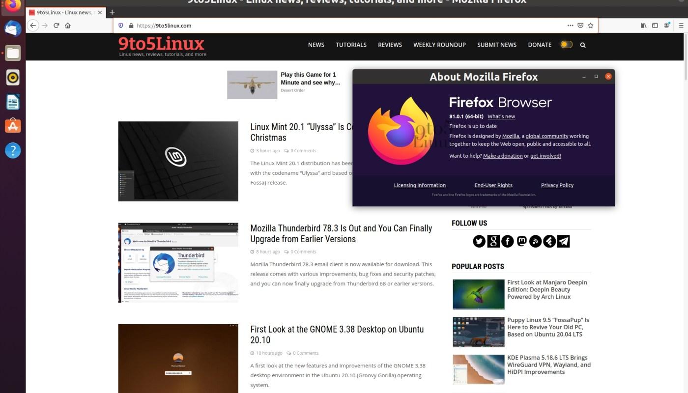 Firefox 81 point release