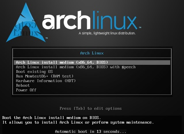Arch Linux's ISO Is Now Powered by Linux Kernel 5.9, Offers New Accessibility Features