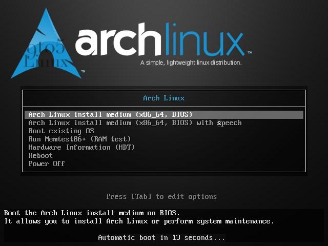 Arch Linux Kernel 5.9