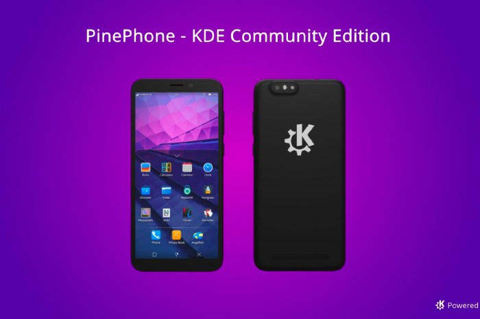 PinePhone KDE Community Edition Launches with Plasma Mobile UI, Convergence