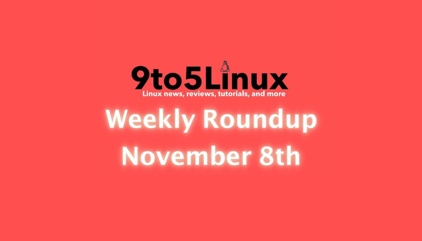 Weekly Roundup November 8th