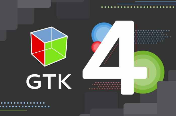 GTK 4.0 Officially Released After More Than 4 Years of Development