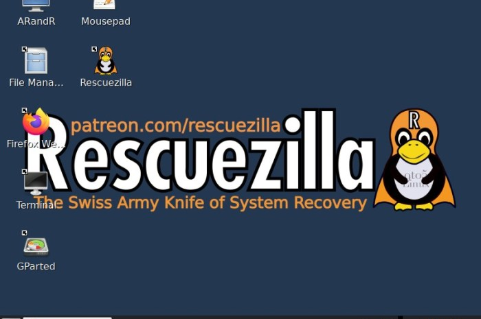 Rescuezilla 2.1 Makes It Easier to Extract Files from Backups, Based on Ubuntu 20.10