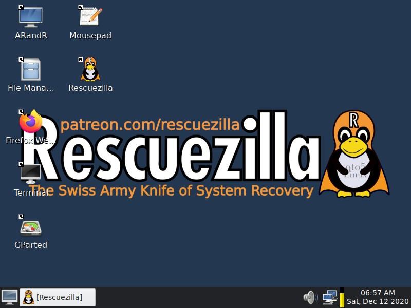 Rescuezilla 2.1