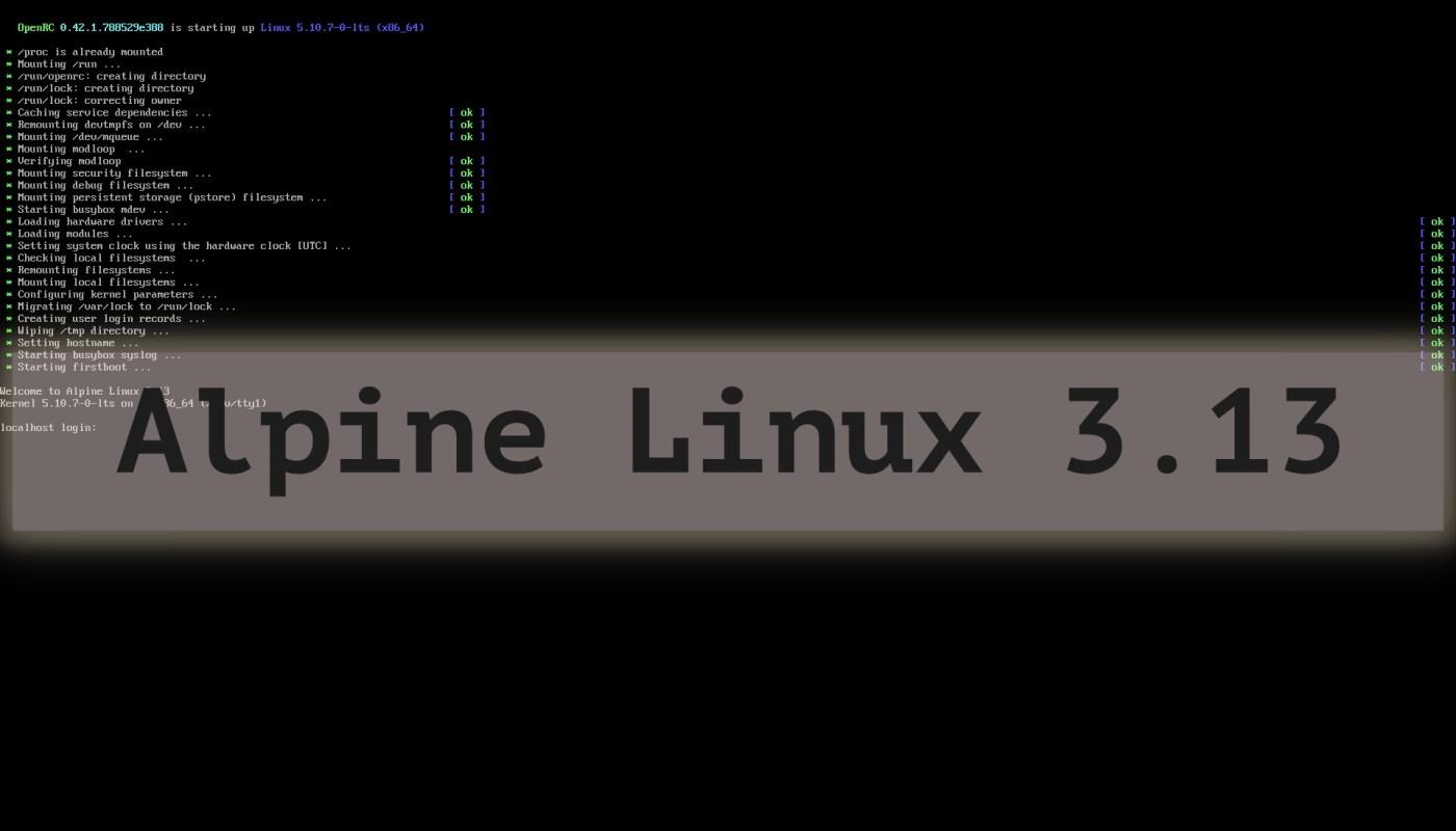 Alpine Linux 3.13