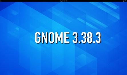 GNOME 3.38.3