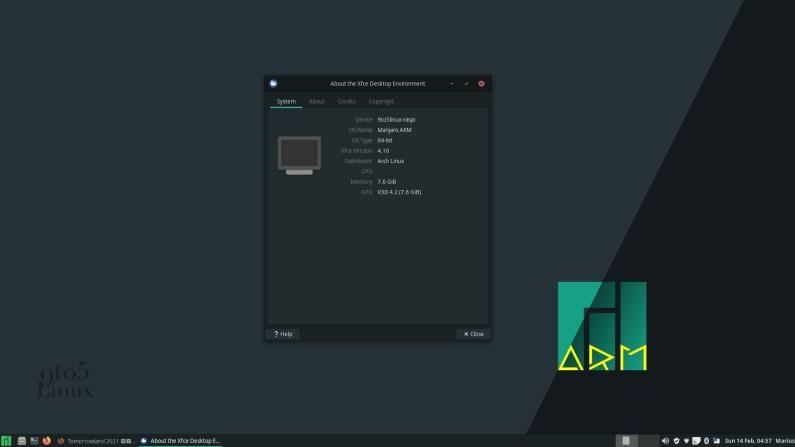 Manjaro Linux Raspberry Pi