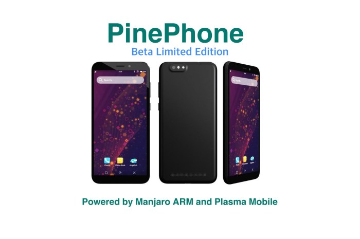 PinePhone Beta Limited Edition Is Now Available for Pre-Order with Manjaro Linux