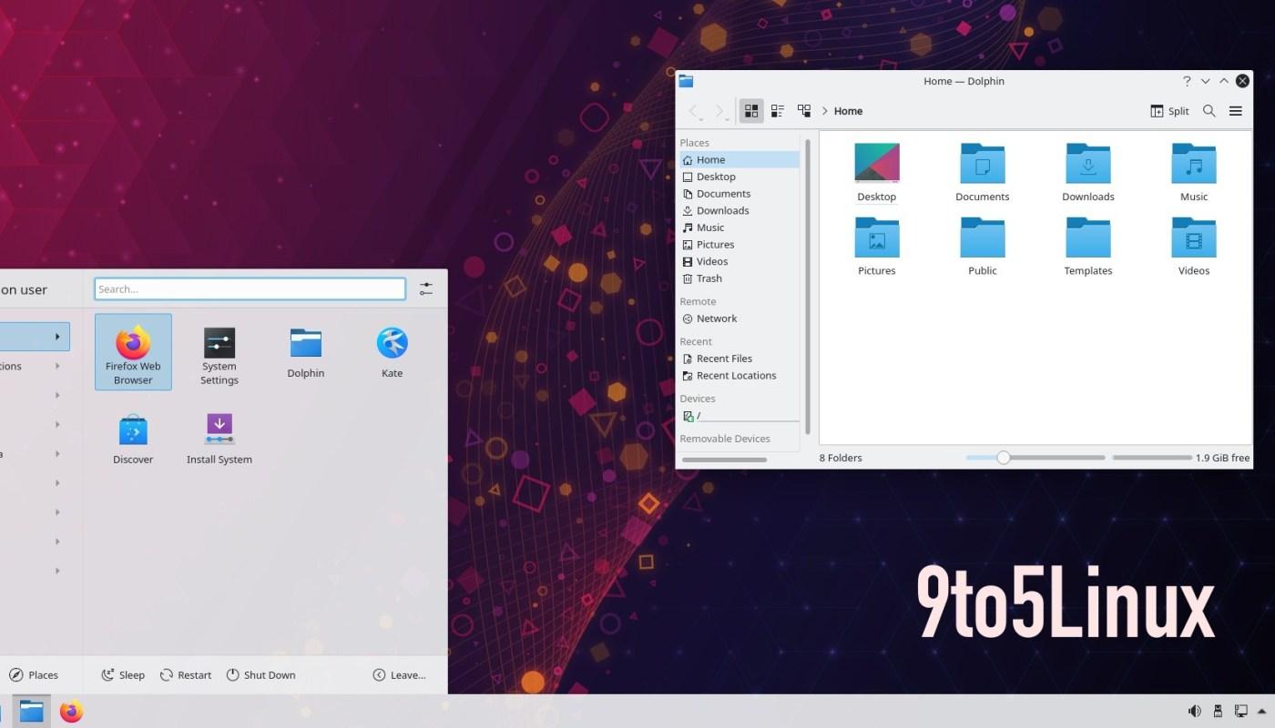 KDE Plasma 5.21.2