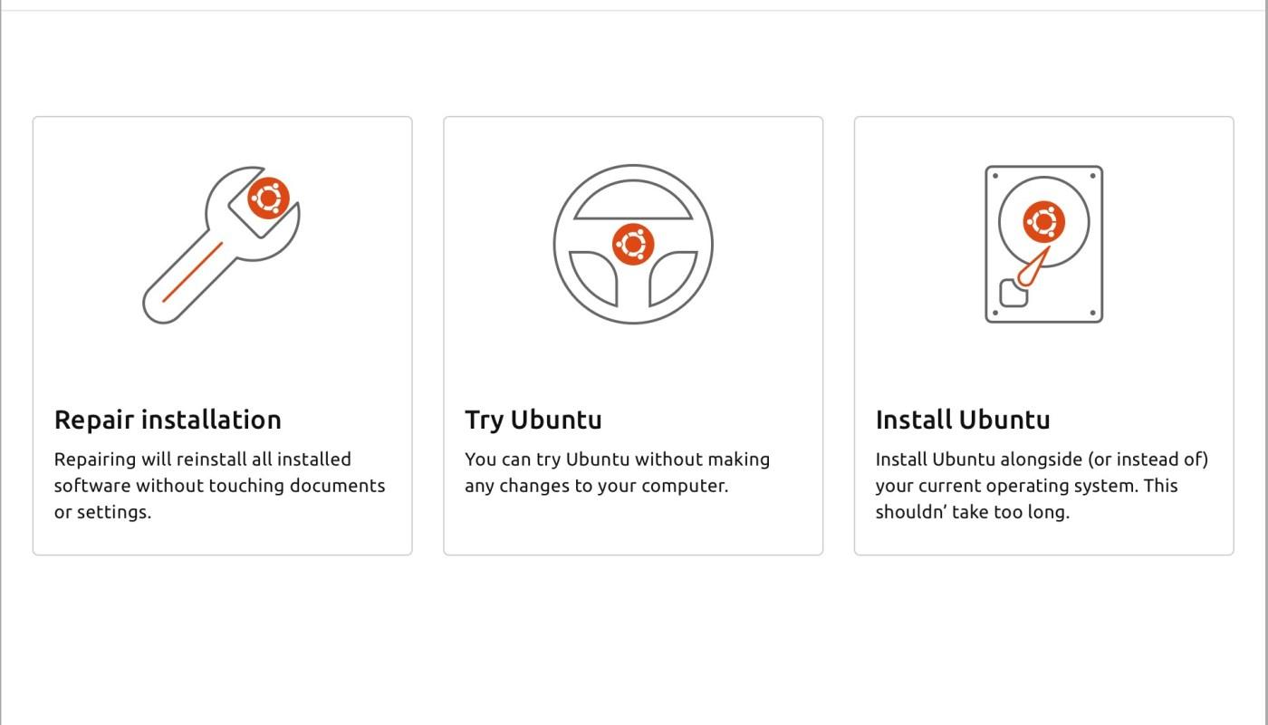 Ubuntu's Desktop Installer