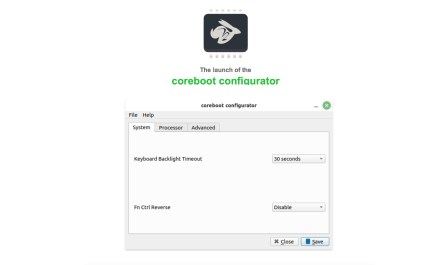 coreboot configurator