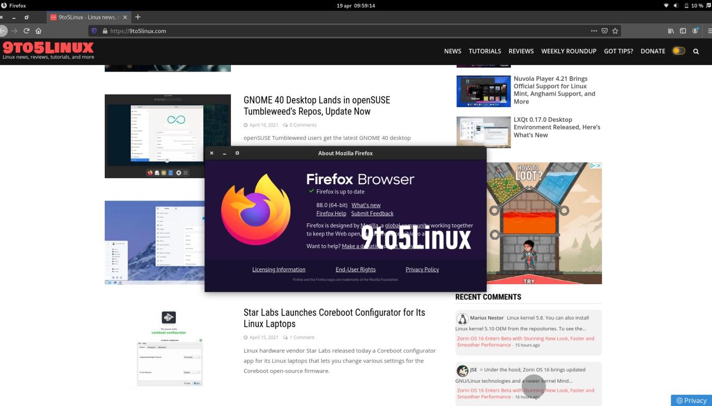 Firefox 88