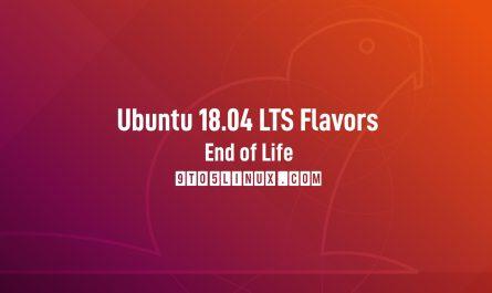 Ubuntu 18.04 Flavors