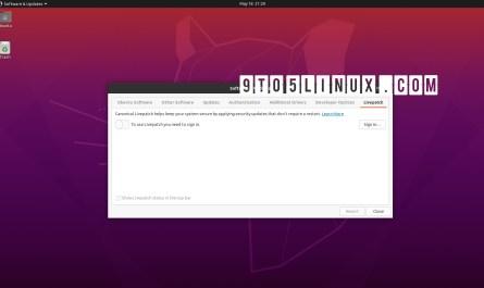 Kernel Live Patch Ubuntu