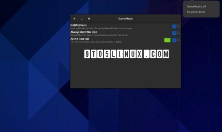 GameMode GNOME 40