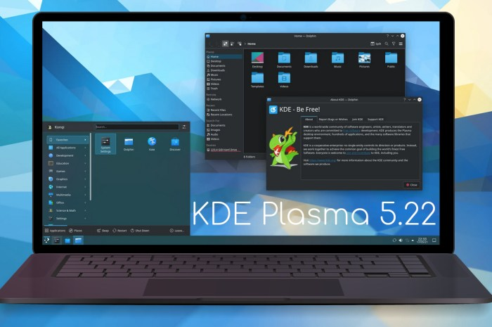 KDE Plasma 5.22 Officially Released, This Is What's New