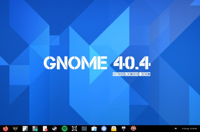 GNOME 40.4 Released with More Bug Fixes and Various Improvements