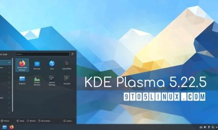 KDE Plasma 5.22.5