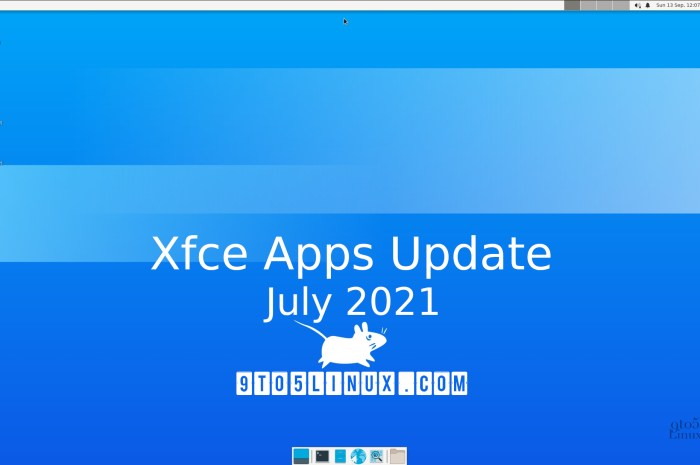 Xfce's Apps Update for July 2021 Brings New Releases of Catfish, Mousepad, Sensors Plugin, and More