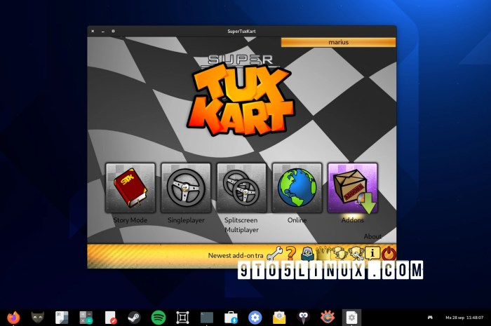 SuperTuxKart 1.3 Released with New Arenas, New Karts, and GUI Improvements