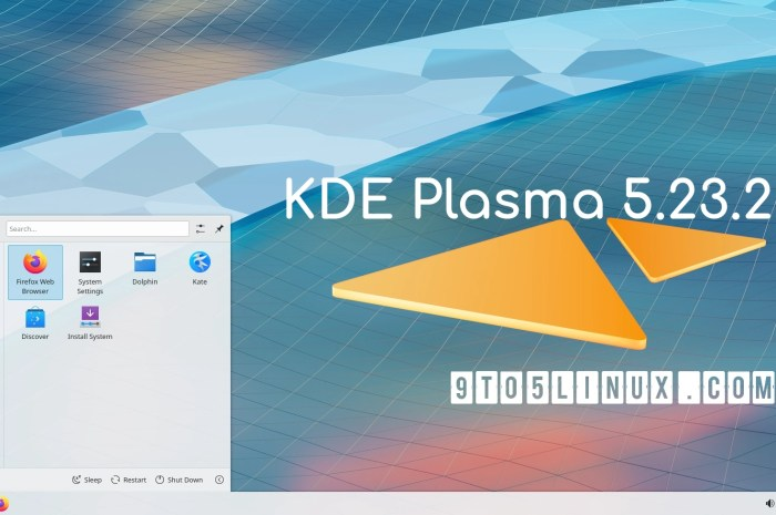 KDE Plasma 5.23.2 Released with NVIDIA GBM Support, More Bug Fixes