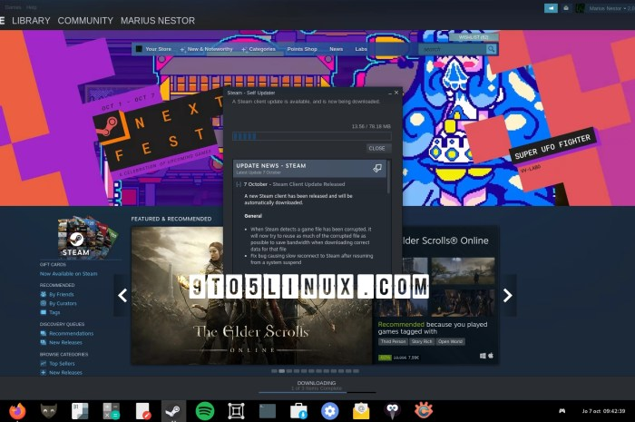 Latest Steam Client Update Brings PipeWire Desktop Capture on Linux, Reduces Vulkan Pre-Caching Sizes