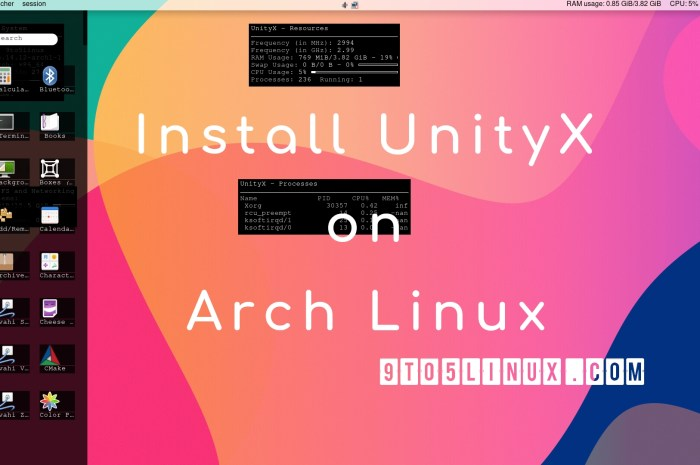 You Can Now Install the UnityX Desktop in Arch Linux, Here's How