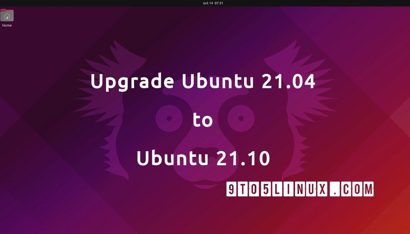 Upgrade Ubuntu 21.04