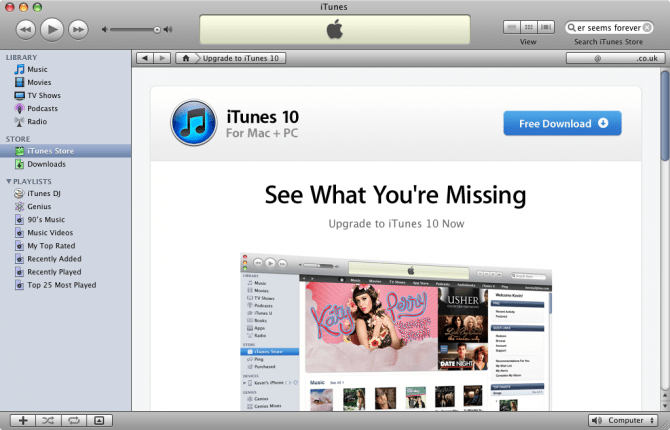 iTunes Latest/Old Version Downloads for Windows