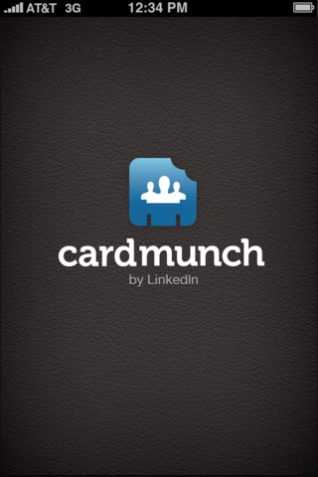 LinkedIn CardMuch for iOS (iPhone screenshot 001)
