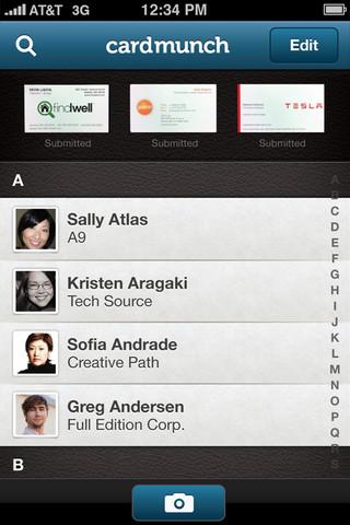 LinkedIn CardMuch for iOS (iPhone screenshot 003)