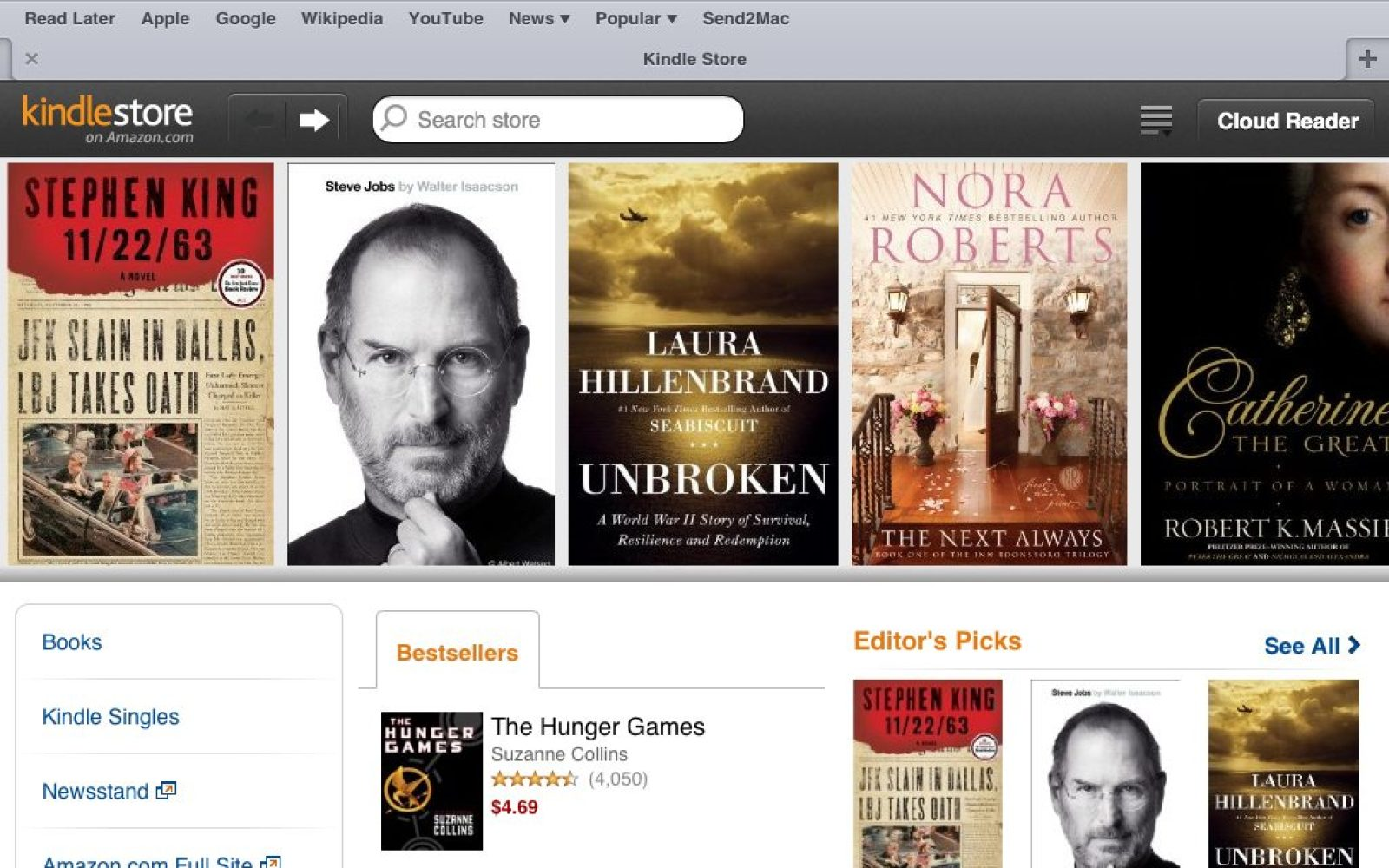Book Cover Design Kindle ~ Amazon launches ipad kindle store on the web feels like a native