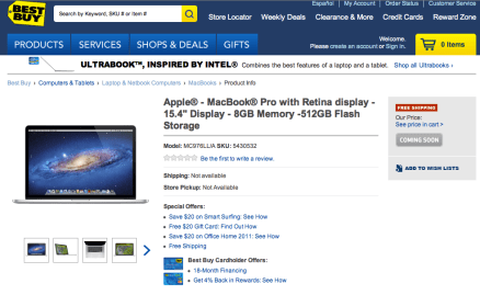 Best Buy Coming Soon