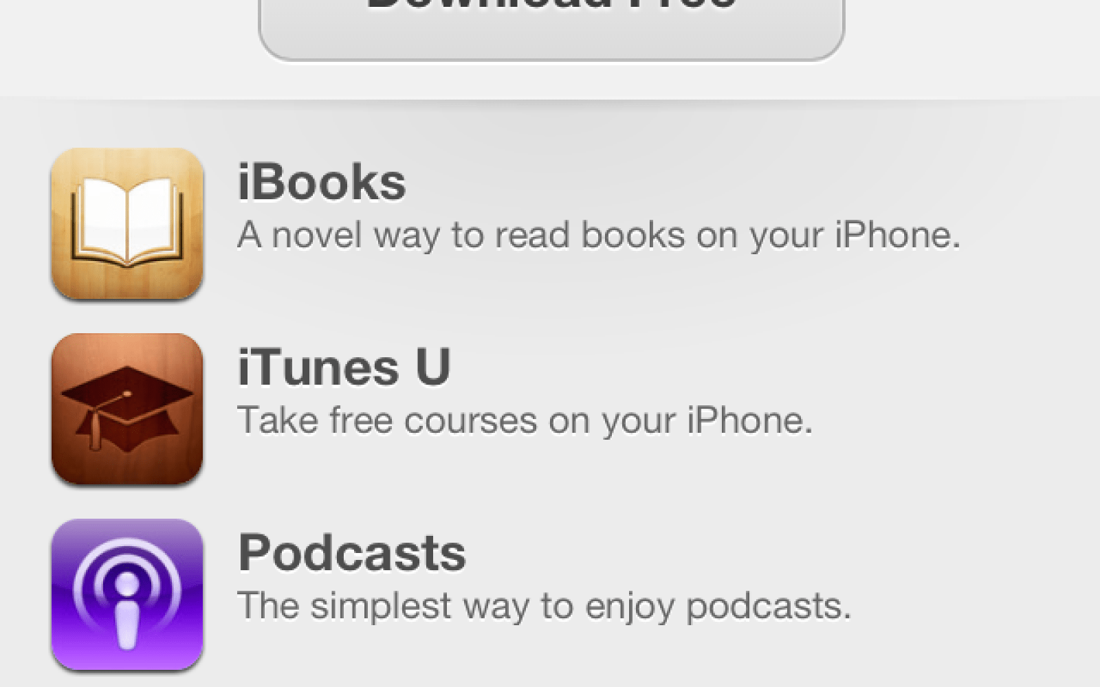 iOS 6 App Store tweaked to promote a one-tap installation of free